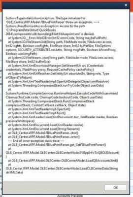 Fixing QuickBooks 2014 Bank Feeds Script Error